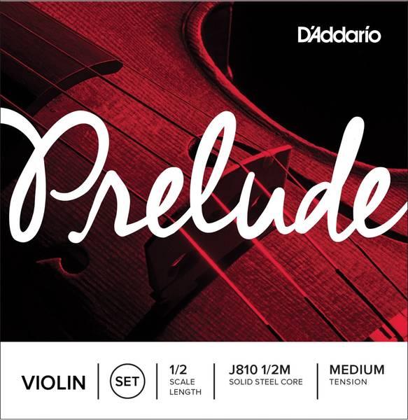 D'Addario Strengesett Violin  J810 1/2-fele Medium Tension